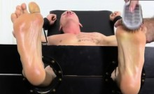 Teenage guy gay sex while wrestling Cristian Tickled In The