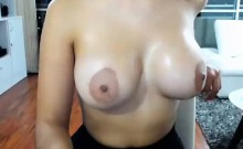 Asian Teen Shows Her Big Tits