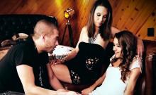 Jade Nile and Rebel Lynn hammered deep by Xander Corvus