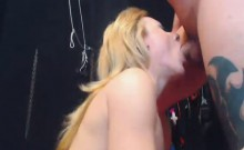 Hard Pussy and Anal Fucking With Facial Cumshot