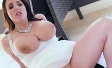 Luscious Bride Angela White Gets Her Anus Plowed