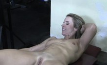Naked MILF Creamy Pussy in the Gym