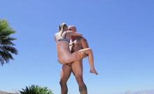 Mofos - Lets Try Anal - Outdoor Anal for All-