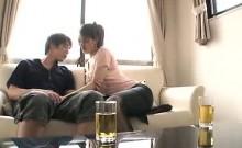 Japanese sexy amateur blowjob