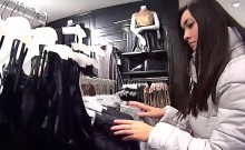 Ravishing czech girl was teased in the mall and reamed in po
