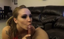 Upsz! My stepsis made a hot blowjob to me