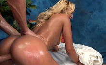 Hotty fucked after sensual massage given by jake