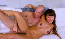 Asian Milf fucking after yoga outdoor