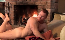 Muscle Gay Rimjob With Cumshot