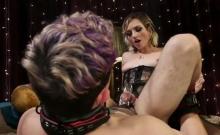 Blonde Loves Bondage In Femdom