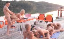 Horny guys get to bang naughty babes