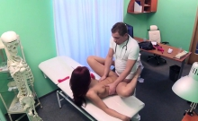 Sex toys addicted patient fucking