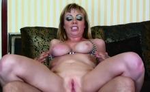 Adrianna Nicole goes nuts on deep anal