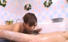 Japanese fetish blowjob