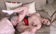 Cute schoolgirl gets teased and pounded by older teacher12hw