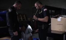 Huge Dick Gay Cops Naked Breaking And Entering Leads To A Ha
