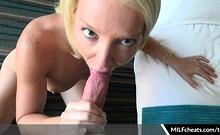 Laura Bentley Sexy Milf Cheats Blowjob