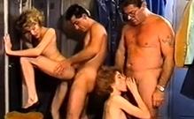 Vintage Group Sex Playtime