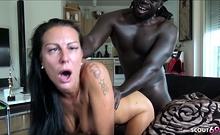 EYE ROLLING Orgasm from GERMAN MILF Texas Patti at BBC Fuck