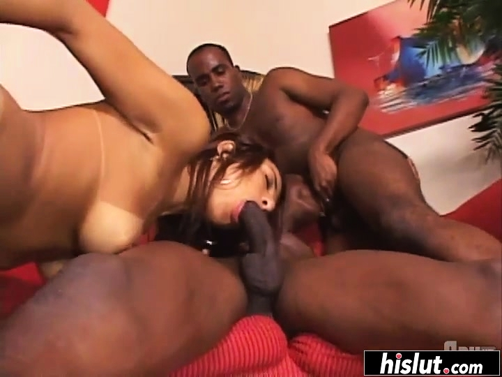 Threesome Two Black Thots