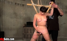 Nyssa Nevers loves to be tied up and feeling of ropes