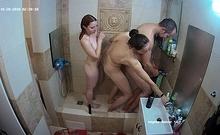 Amateur shower turns into an amateur fuck fest