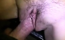 Amateur Girl Takes It In Her Hairy Pussy